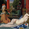 Odalisque With Slave by Ingres
