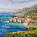 Ode To Big Sur by Karin  Leonard