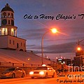 Ode To Harry Chapins Taxi by John Malone