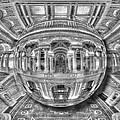 Ode To Mc Escher Library Of Congress Orb by Tony Rubino