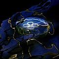 Odyssea Moon Jellyfish 1 by Lisa Renee Ludlum