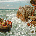 Odysseus And Polyphemus by Arnold Boecklin