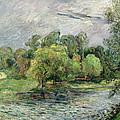 Oestervold Park, Copenhagen, 1885 by Paul Gauguin