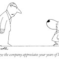 Of Course The Company Appreciates Your Years by Charles Barsotti