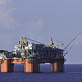 Offshore Production Platform by Bradford Martin