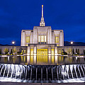 Ogden Temple II by Chad Dutson