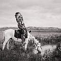 Oglala Indian Man Circa 1905 by Aged Pixel