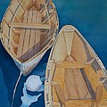 Oguniquit Boats by Melissa Maxwell