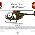 Oh-6a Electric Olive II Loach by Arthur Eggers