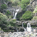 O'heo Falls by Terry Hunt