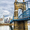 Ohio River Bridge by Michael J Samuels