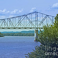 Ohio River Crossing by Ann Horn