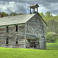 Ohio Schoolhouse by Jack R Perry