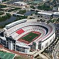 Ohio Stadium Aerial by Bill Cobb