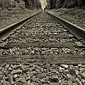 Ohio Train Tracks by Dan Sproul