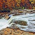 Ohiopyle Falls 2 by Steve Harrington