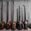 Oil Can Collection by Debra and Dave Vanderlaan