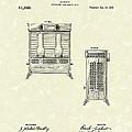 Oil Heater 1917 Patent Art by Prior Art Design