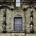 Oil Painting - Renaissance Styled Statues On Royal Palace In Stirling Castle by Ashish Agarwal