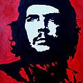 Original Oil Painting Art -ernesto Guevara#16-2-5-30 by Hongtao     Huang