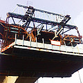 Oil Painting - Bridge As A Part Of Construction by Ashish Agarwal