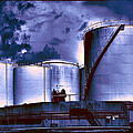 Oil Storage Tanks 2 by Dominic Piperata