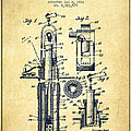 Oil Well Pump Patent From 1912 - Vintage by Aged Pixel