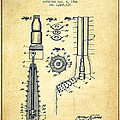 Oil Well Reamer Patent From 1924 - Vintage by Aged Pixel