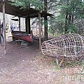 Ojibwe Fish Trap by Terry Hunt