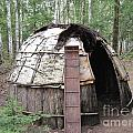 Ojibwe Wigwam Part 3 by Terry Hunt