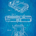 Okada Nintendo Gameboy 2 Patent Art 1993 Blueprint by Ian Monk