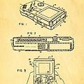 Okada Nintendo Gameboy 2 Patent Art 1993 by Ian Monk