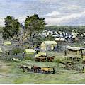Oklahoma City, 1889 by Granger