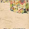 Oklahoma Map Vintage Watercolor by Florian Rodarte
