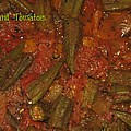 Okra And Tomatoes by Cleaster Cotton copyright