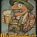 Oktoberfest Guy Poster by Tim Nyberg