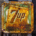 Old 7 Up Sign by Garry Gay