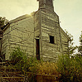 Old Abandoned Country  School by Ann Powell