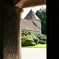 Old Abbey Church Door - Abbey Fontenay by Christiane Schulze Art And Photography
