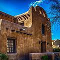 Old Adobe Building Santa Fe New Mexico by Gareth Burge Photography