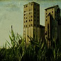 Old Buffalo Grain Elevators by Gothicrow Images