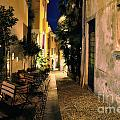 Old Alley At Night by Mats Silvan
