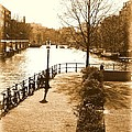 Old Amsterdam by Brian Raggatt