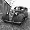 Old And Forgotten Black And White by Judy Whitton