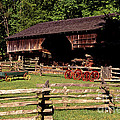 Old Appalachian Farm Cantilevered Barn by Paul W Faust -  Impressions of Light