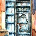 Old Arabian Door by Judy Shinnick