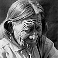 Old Arapaho Man circa 1910 by Aged Pixel