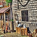 Old Bait Shop And Antiques by Dan Sproul