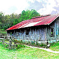 Old Barn Along Golden Road Filtered by Duane McCullough