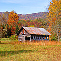 Old Barn Along Slick Fisher Road by Duane McCullough